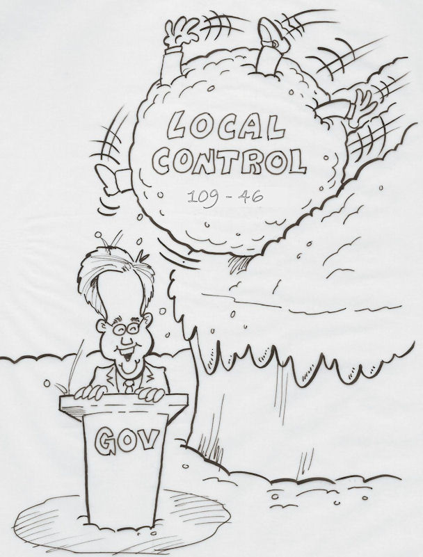 Local Control: Hello, Governor?