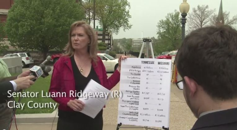 Tax Reform: Sen Luann Ridgeway Tax Day Question