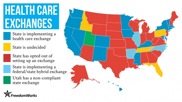 Limited Government Demands No State Health Care Exchange!