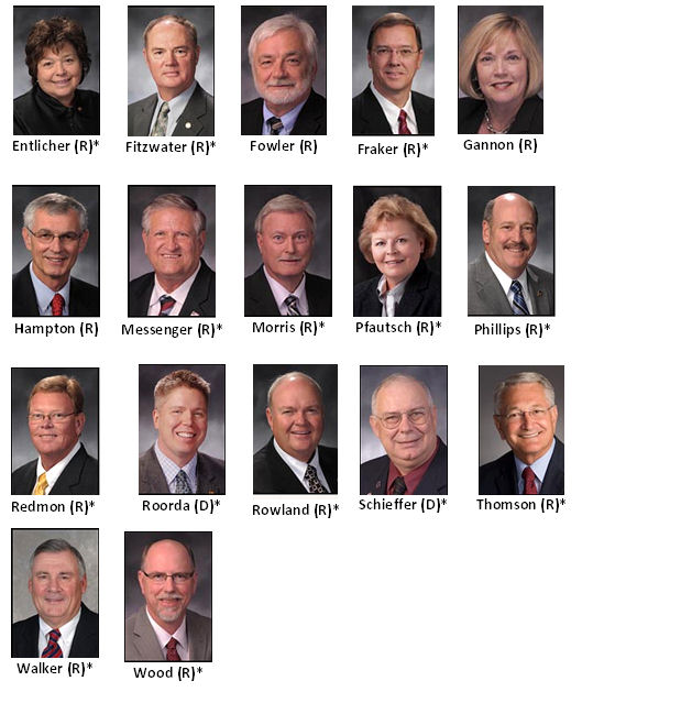 Missouri's Wall of Shame