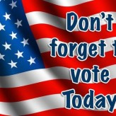 Don't Forget to Vote Today!